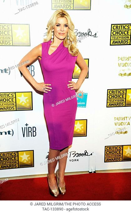 McKenzie Westmore arrives at the Broadcast Television Journalists Association's third annual Critics' Choice Television Awards at The Beverly Hilton Hotel on...
