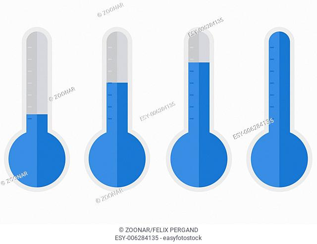 thermometer-blue-flat