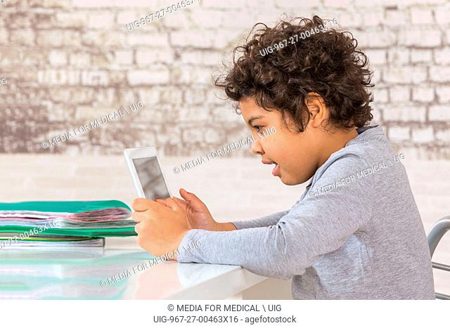 Tablet computing child