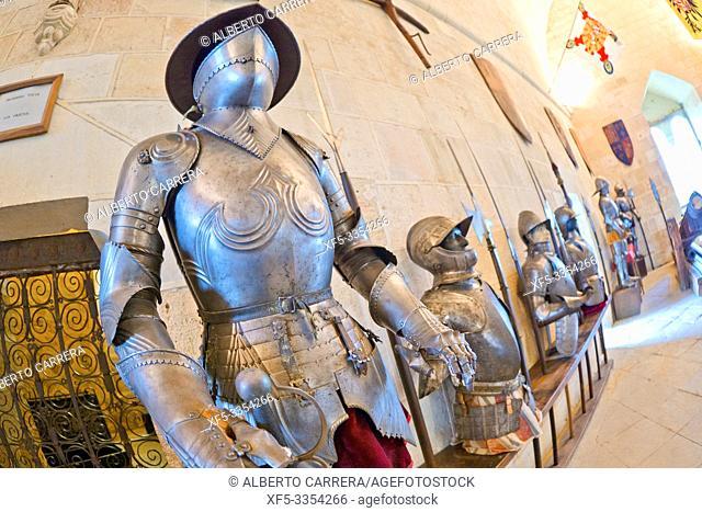 Armory Room, Sala de Armas, Alcázar of Segovia, Segovia, UNESCO World Heritage Site, Castilla y León, Spain, Europe