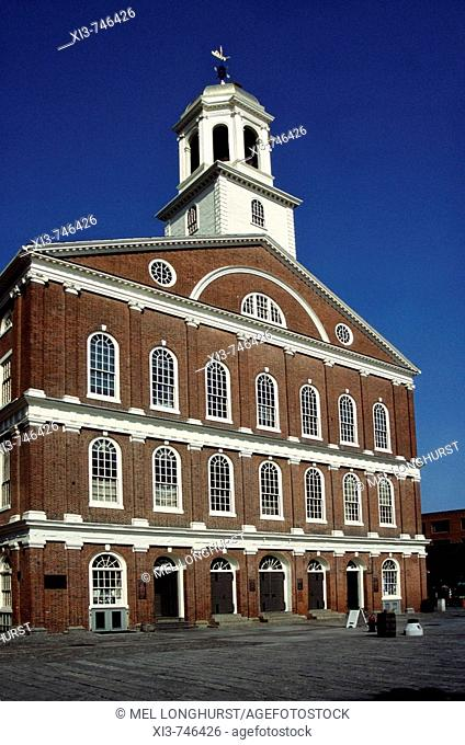 Faneuil Hall, Boston, Massachusetts, New England, USA