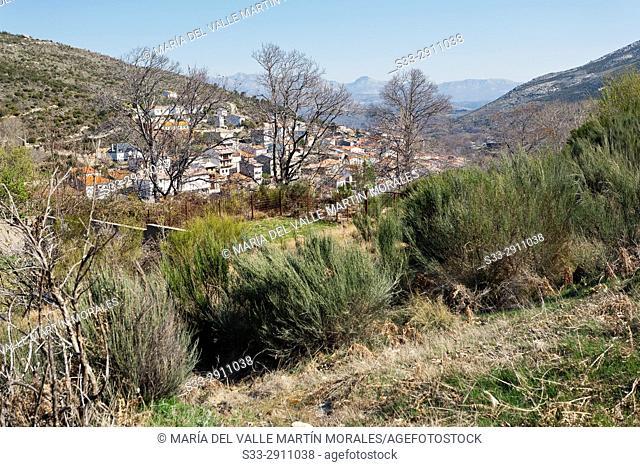 Serranillos and Sierra de la Paramera. Avila. Spain