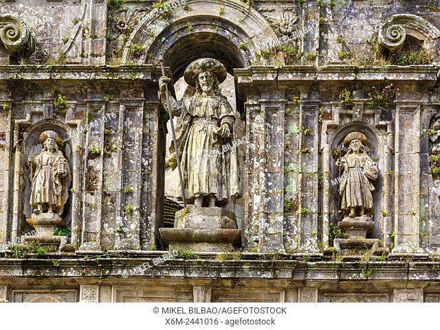 Cathedral. Santiago de Compostela. La Coruña, Galicia, Spain, Europe