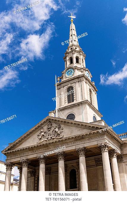 UK, London, St Martin-in-the-Fields church