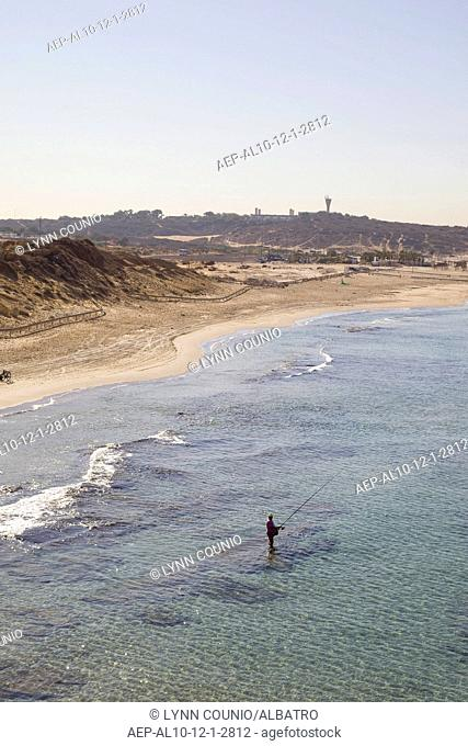 An abatract photo of the Maditerranean Sea costline