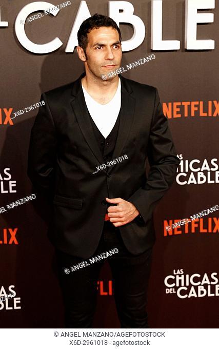 Premiere of the Netflix series Las chicas del cable.Mario de la Rosa.Madrid. 27/04/2017.(Photo by Angel Manzano).