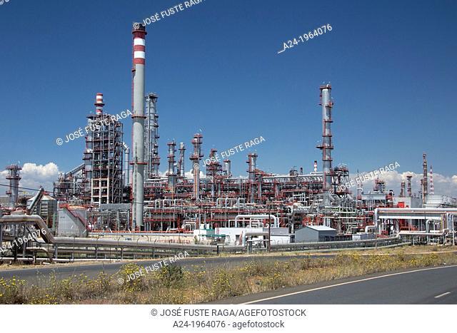 Spain , Andalucia Region, Huelva Province, La Rabida , Oil Refinery