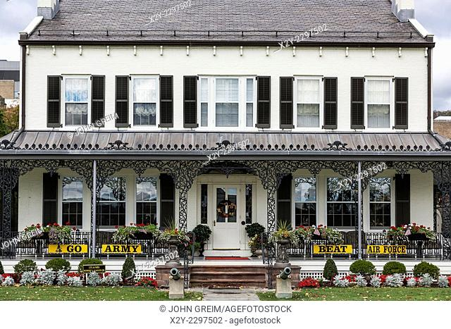 Superintendent's Quarters, West Point Military Academy, New York, USA