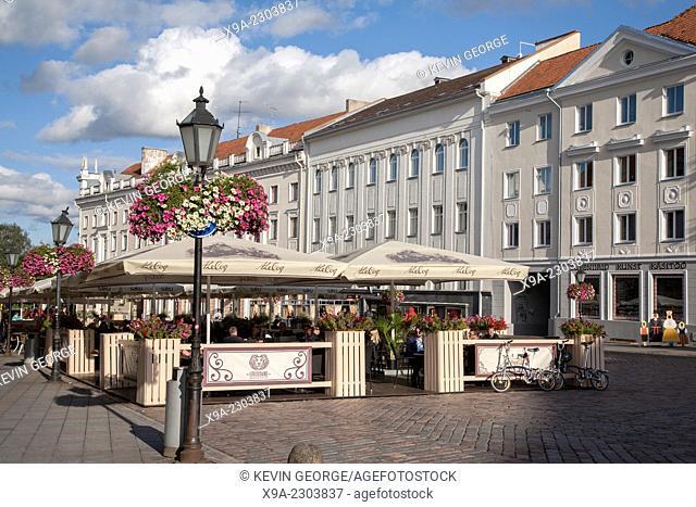 Main Square - Raekoja Plats, Tartu, Estonia