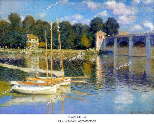 'The Bridge at Argenteuil', 1874