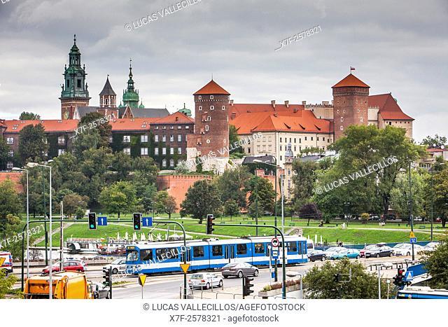 Wawel Royal Castle , Krakow, Poland