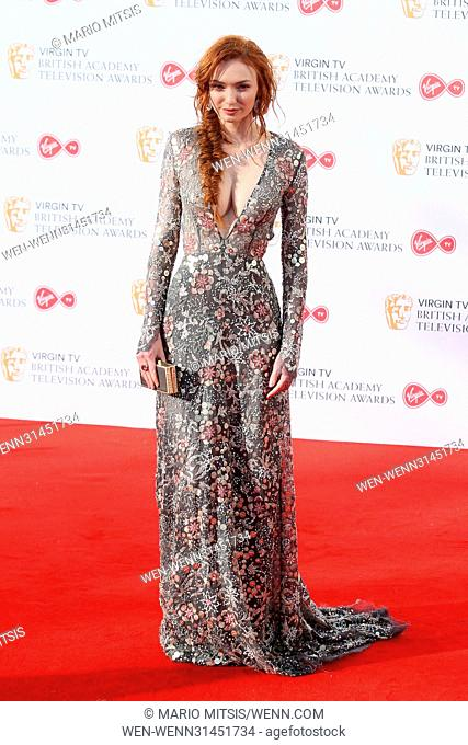 The Virgin TV British Academy Television Awards held at the BFI Southbank - Arrivals Featuring: Eleanor Tomlinson Where: London