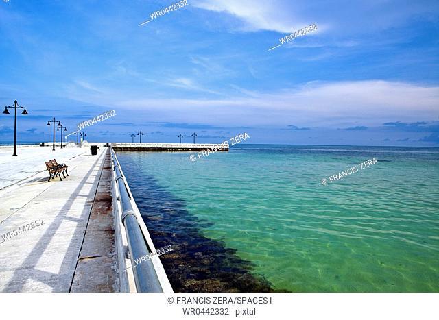 Pier on the Florida Coast