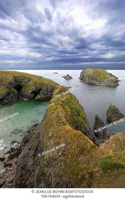 Britanny; Belle Ile island : wild coast