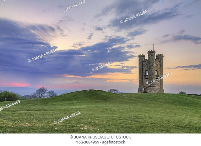 Broadway Tower, Cotswold, Gloucestershire, England, UK