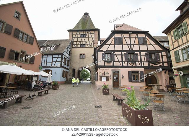 Turckheim picturesque village, Alsace, France