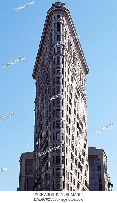 Flat Iron Building 1902 1903 Designed By Daniel Hudson Burnham 1846