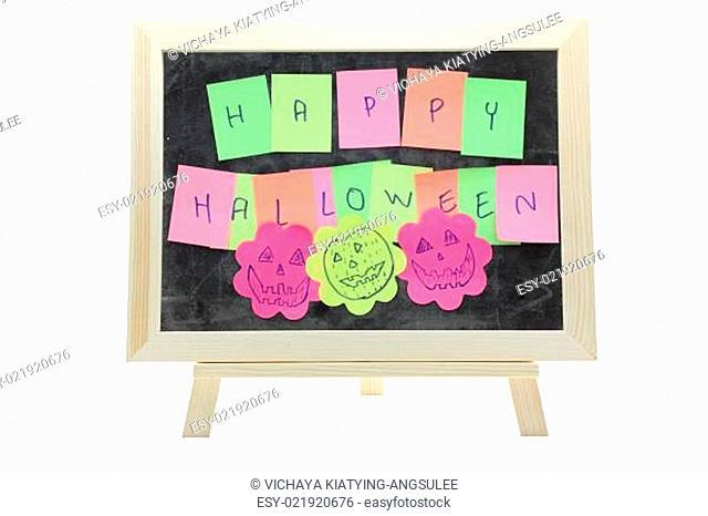 halloween from memo stick