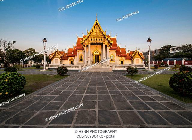 Wat Benchamabophit - also known as Marble Temple, Bangkok, Thailand