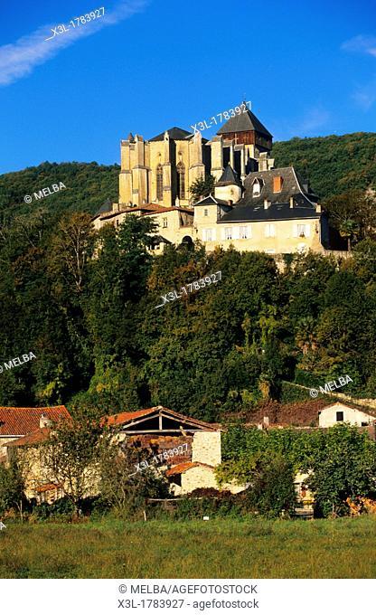 Sta  Maria roman cathedral  St  Bertrand de Comminges  Haute-Garonne  Francia