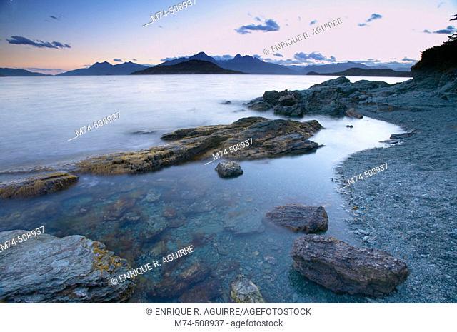 Beagle Channel. Tierra del Fuego, Patagonia, Argentina