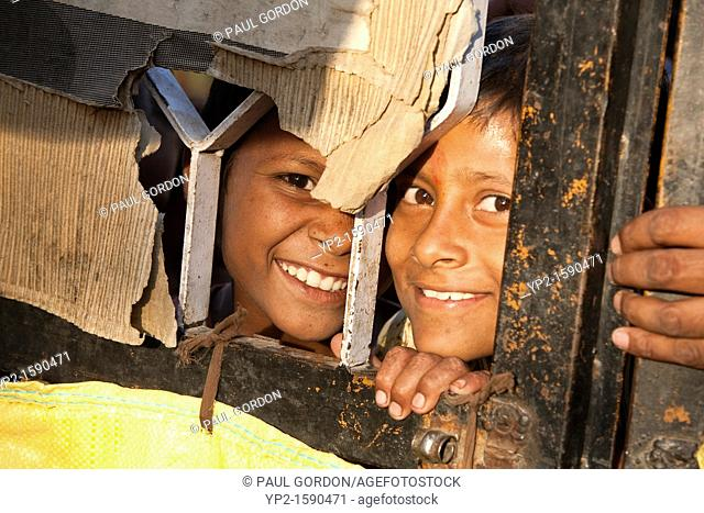 Idgah Slum Area - Jaipur, Rajasthan, India  More than one million urban dwellers live in the slums of Rajasthan  Most migrated from rural areas with the hope of...