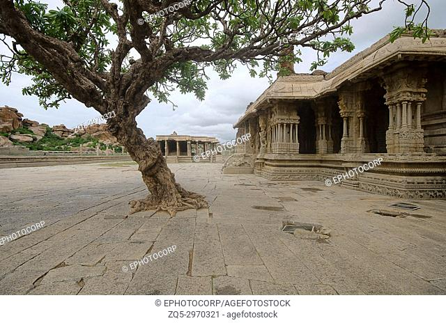 "Vittala Temple Complex, Built in 15th century, Hampi, Karnataka, India. It was built during the reign of King Devaraya Second (1422 â. "" 1446 A. D. )"