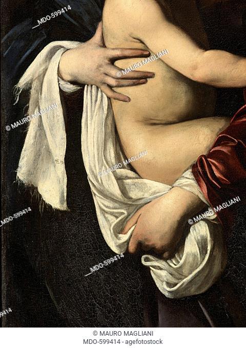 Madonna di Loreto, by Michelangelo Merisi known as Caravaggio, 1604 - 1606 about, 17th Century, oil on canvas, cm 260 x 150