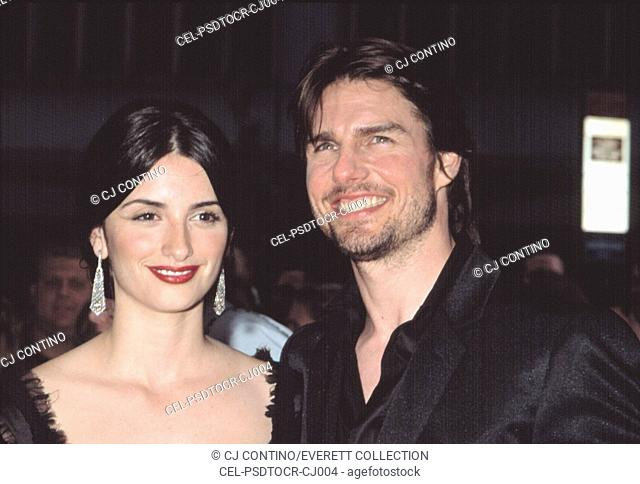 Tom Cruise and Penelope Cruz at the premiere of Minority Report, NYC, 6/17/2002, by CJ Contino