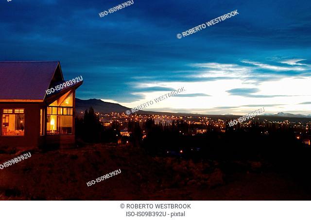 America del Sur Hostel, in the town of El Calafate, Santa Cruz, Argentina