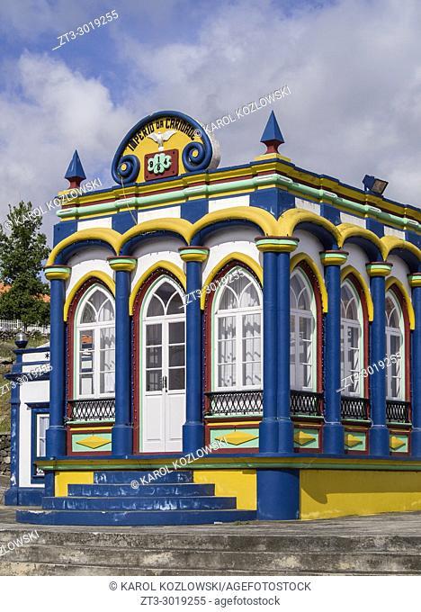 Imperio da Caridade, Empire of Holy Spirit, Praia da Vitoria, Terceira Island, Azores, Portugal