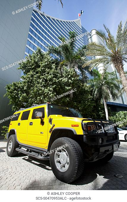 A Hummer in Dubai
