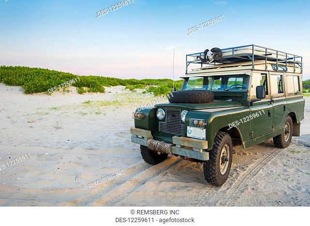 1966 Series 2A Land Rover Safari Wagon, Assateague Island National Seashore; Maryland, United States of America