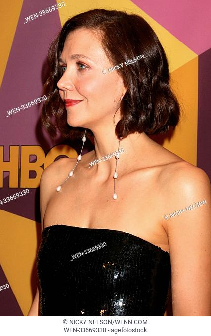HBO Post Golden Globe Party 2018 at Beverly Hilton Hotel on January 7, 2018 in Beverly Hills, CA Featuring: Maggie Gyllenhaal Where: Beverly Hills, California