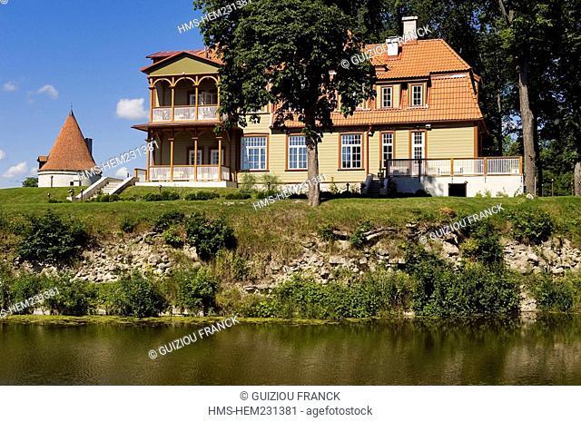 Estonia Baltic States, Saaremaa Island, Kuressaare Village, Lossi Hotel