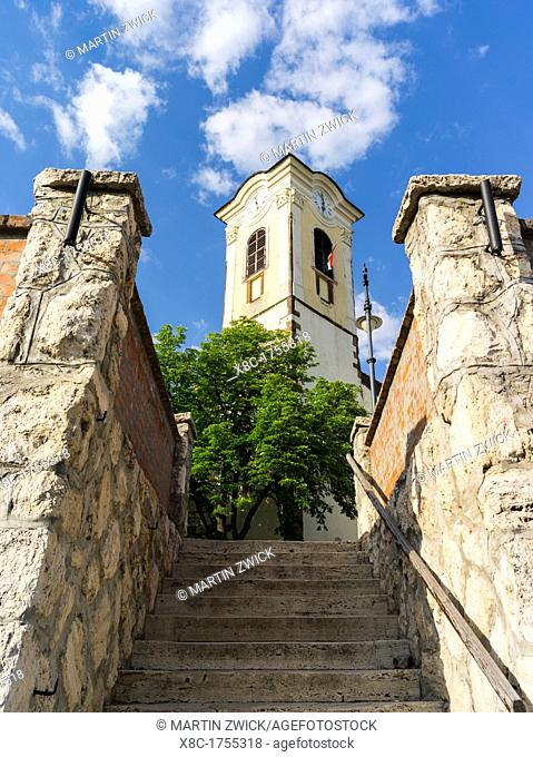 Szentendre near Budapest Church of John the Baptist Szentendre, which calls itself the town of artists and churches, is located on the banks of river Danube...
