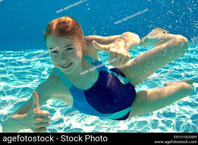 Top unter Wasser
