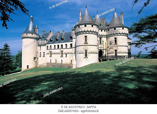 France - Centre - Chaumont-sur-Loire Castle (UNESCO World Heritage Site, 2000), 15th-16th century
