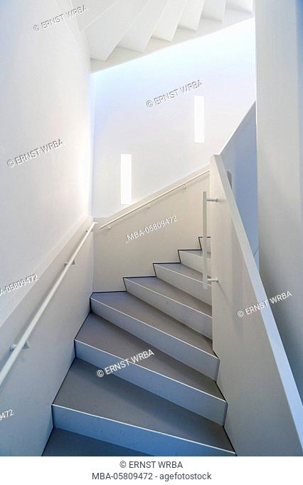 De Appel Arts Centre, stairwell, Amsterdam, Holland, Netherlands