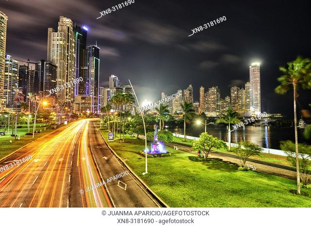 Cinta Costera, Panama City, Republic of Panama, Central America, America