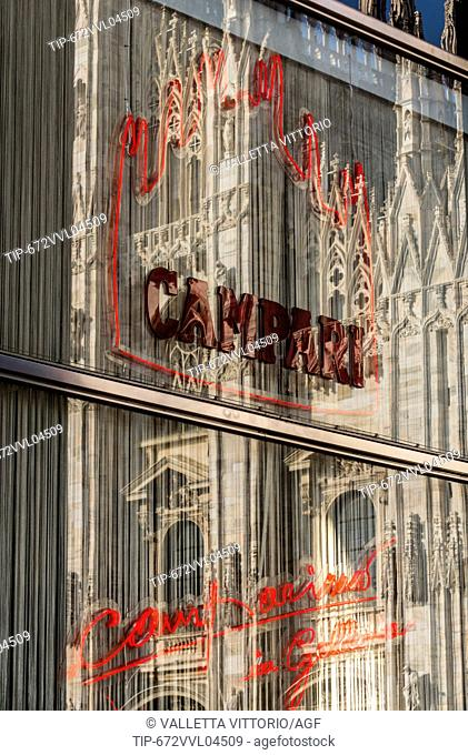 Italy, Lombardy, Milan, Vittorio Emanuele Gallery, Camparino Bar