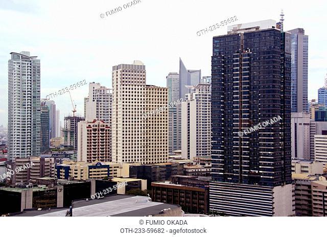 Makati skyline, Makati, Philippines