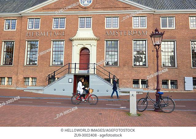 Hermitage museum, Amsterdam, Netherlands,. Located in the classical Amstelhof building from 1681