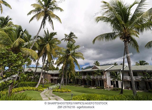 Four Season Hotel, Pinney's beach, Nevis, Caribbean