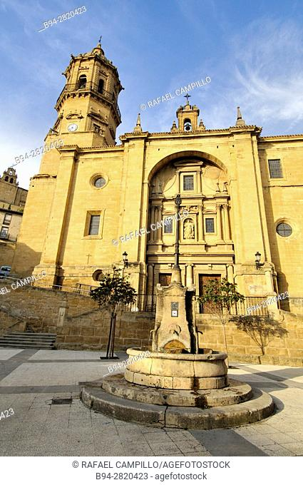 The church of Our Lady of the Assumption, in Labastida, Álava, Basque Country, Spain, is a parish temple built between the 16th and 18th centuries in a...
