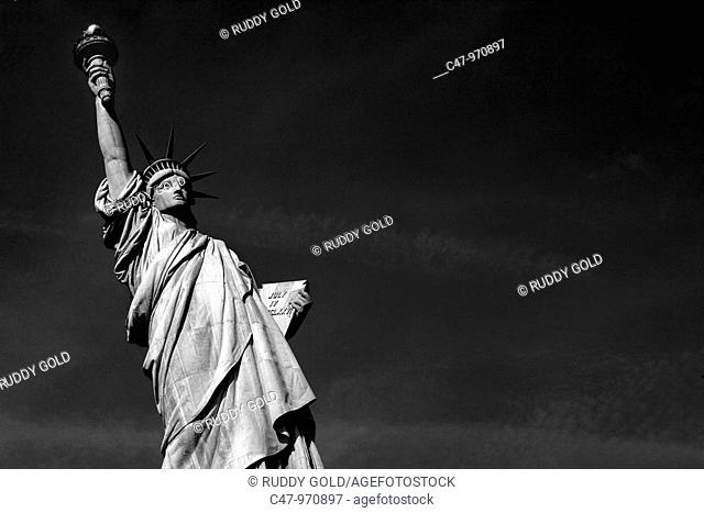US  New York  Statue of Liberty  The idea of the Statue originated around 1865 with Edouard de Laboulaye who saw the United States as a country that had proved...