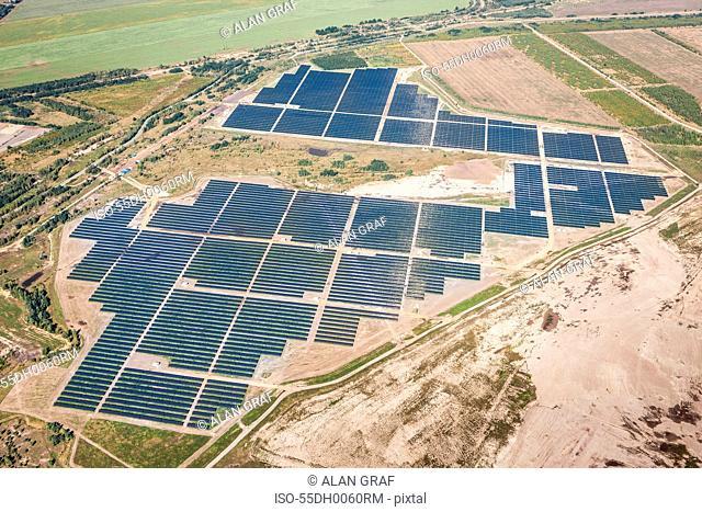 Senftenberg Solarpark, photovoltaic power plant, Senftenburg, Germany