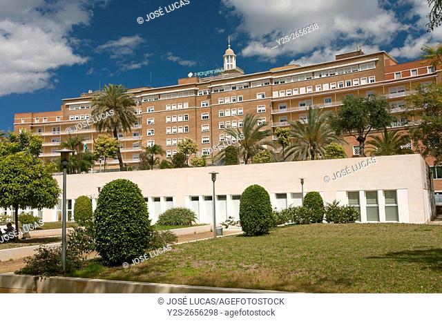 University Hospital Virgen del Rocio, Seville, Region of Andalusia, Spain, Europe