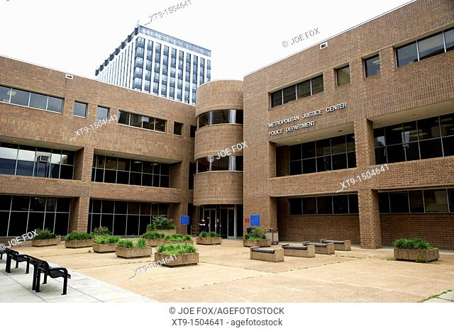 Metropolitan Justice Center and police station Nashville Tennessee USA