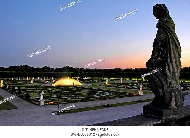 Herrenhausen Garden Lower Stock Photos And Images Age Fotostock